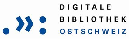 Digitale Bibliothek Ostschweiz Logo